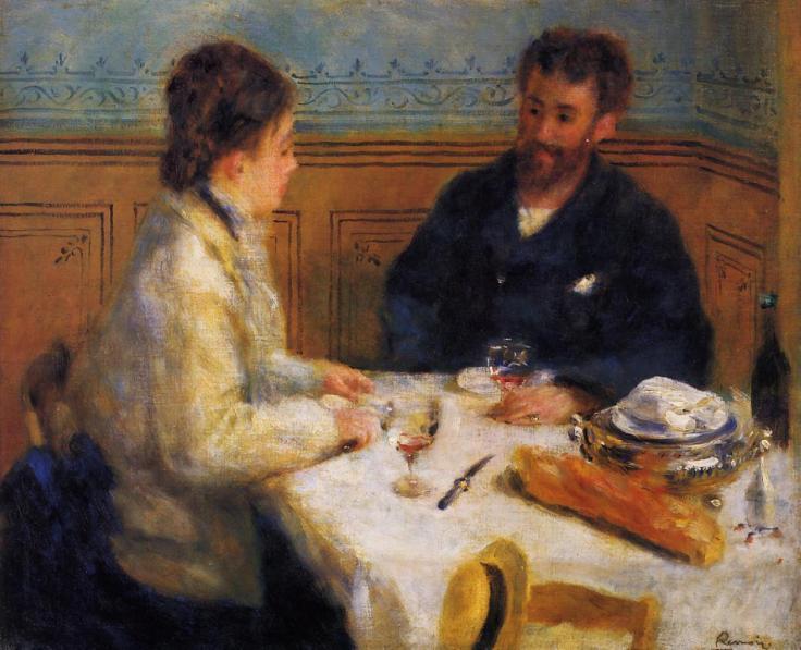 Pierre Auguste Renoir (1841-1919)-The-Luncheon-1879