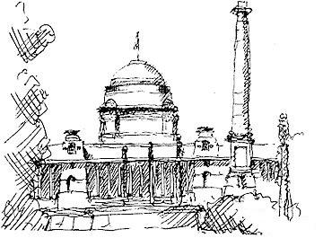 The Rashtrapathi's House